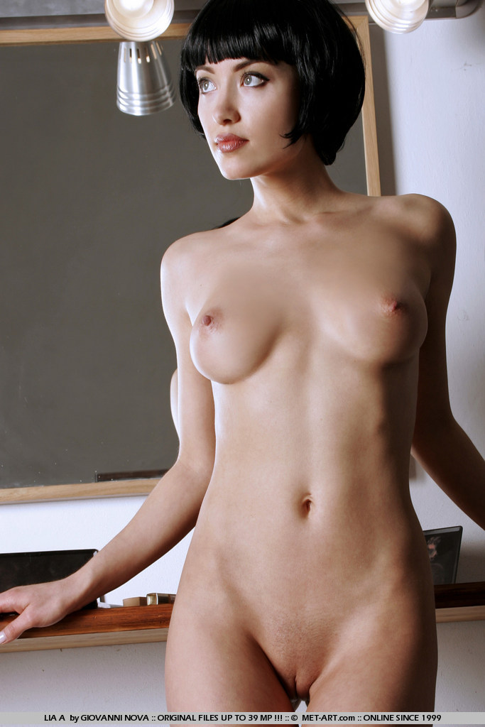 Nude black women short hair