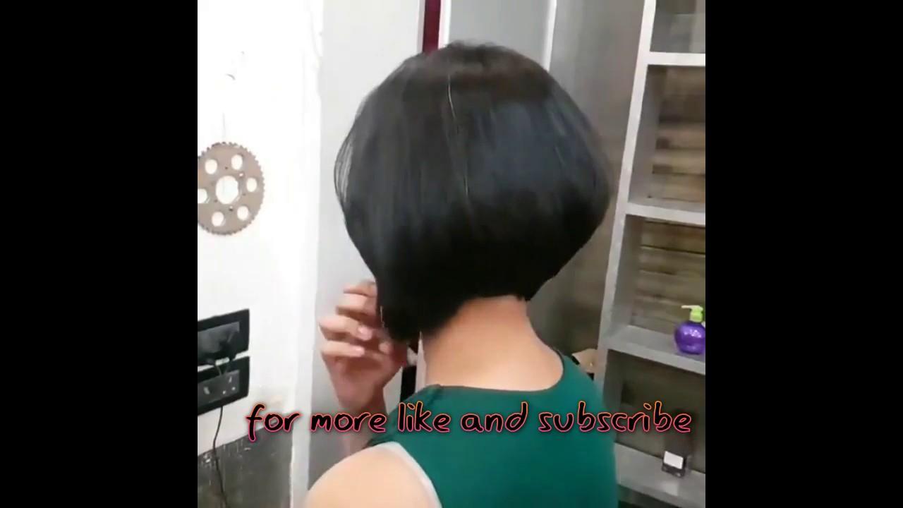 Bob haircut in porn video