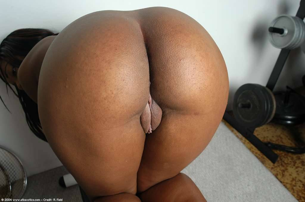 Black girls bent over