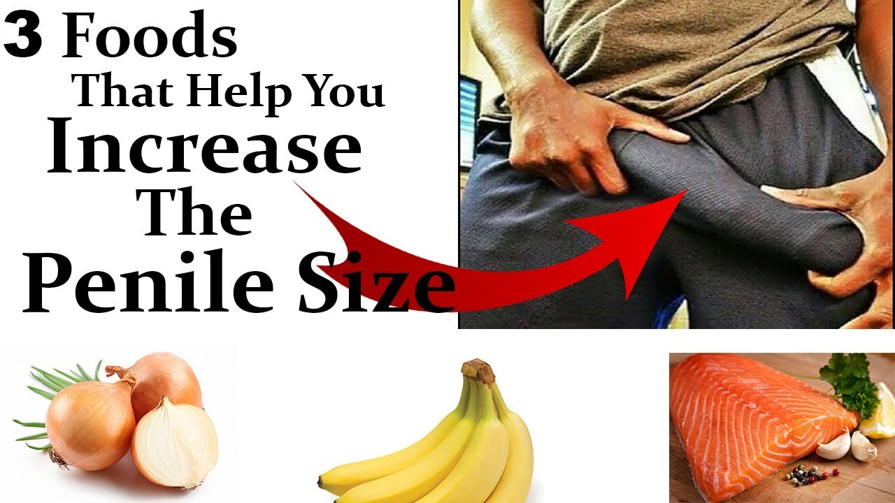 Penis growth food recipes