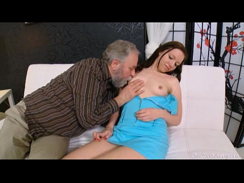 Older men breast sucking