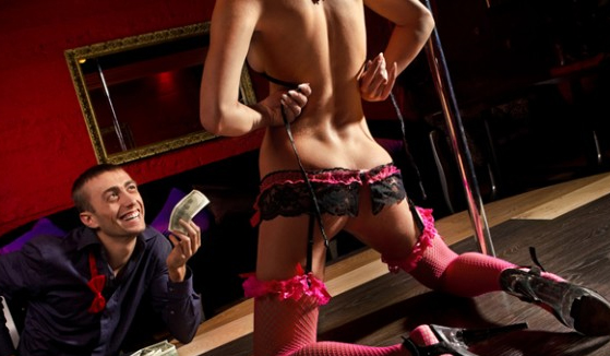 In las stripper transsexual vegas