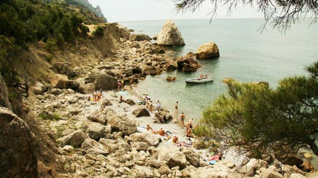 Nude beach russia ukraine