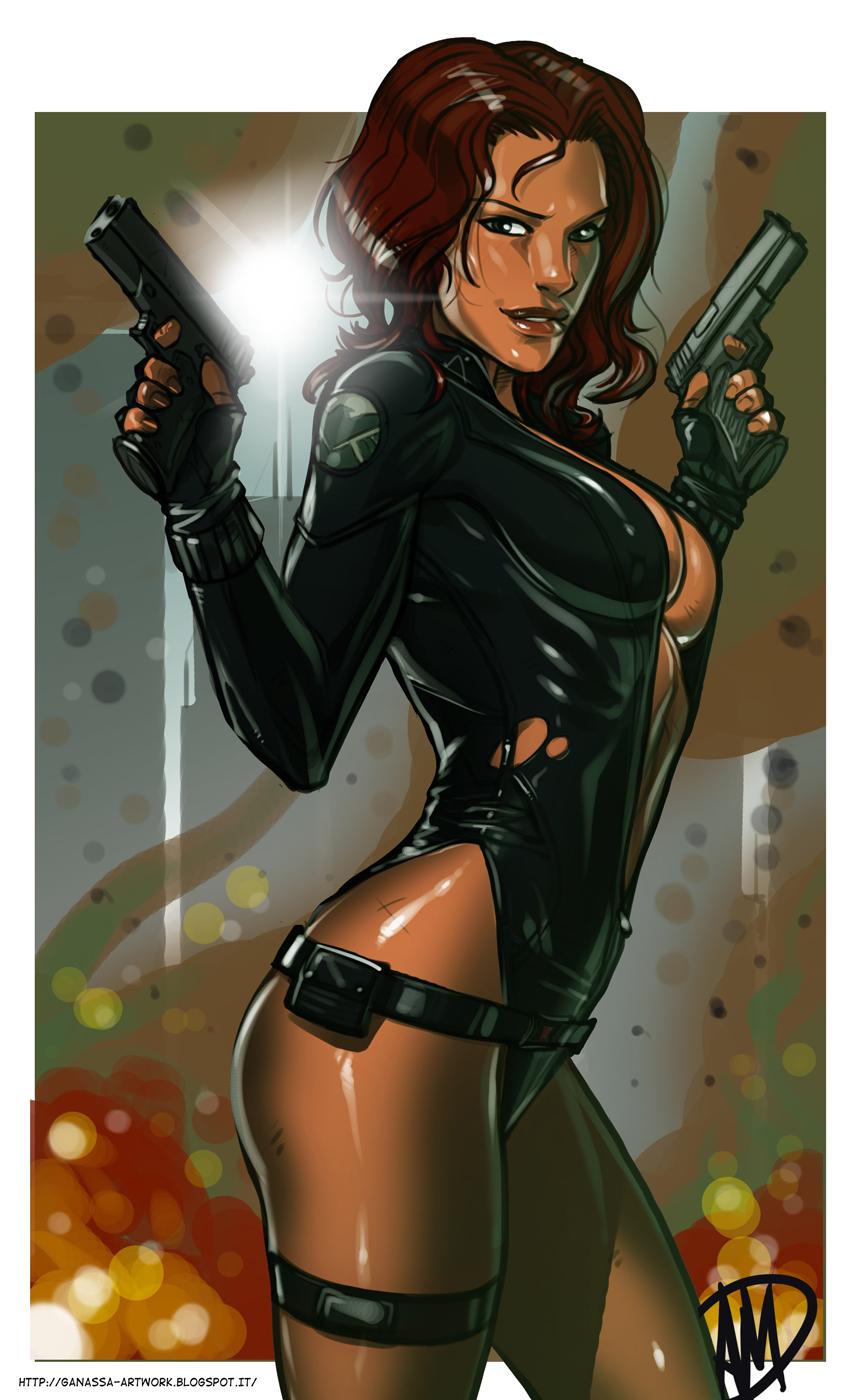 Black widow marvel hentai porn