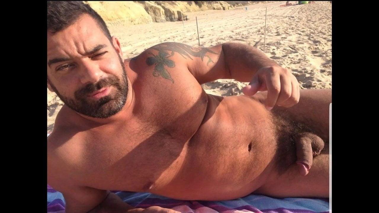 Hairy men nude men