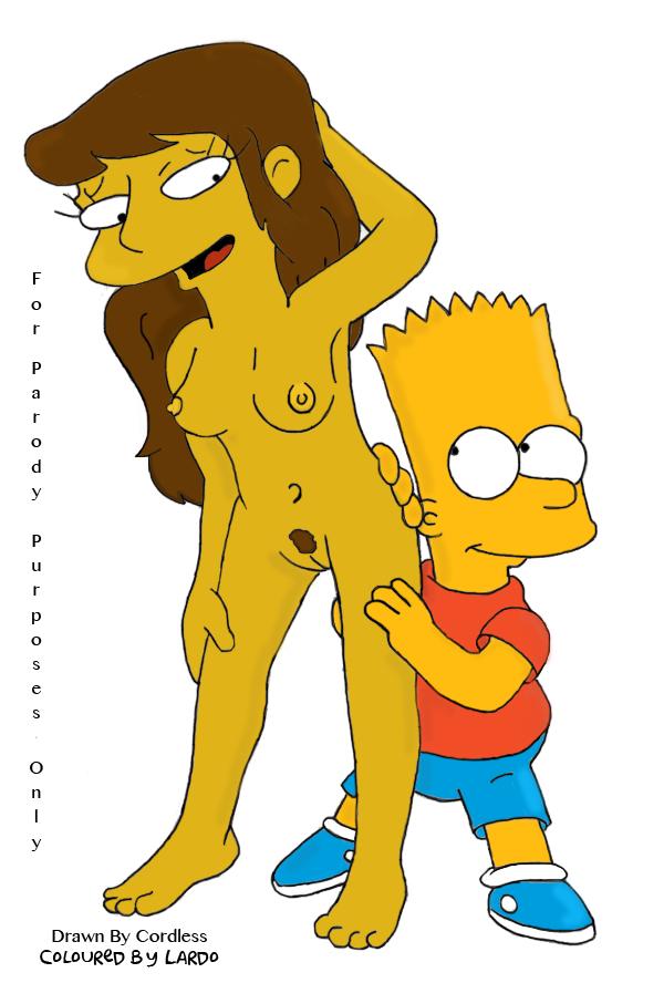 Jessica lovejoy and bart simpson porn