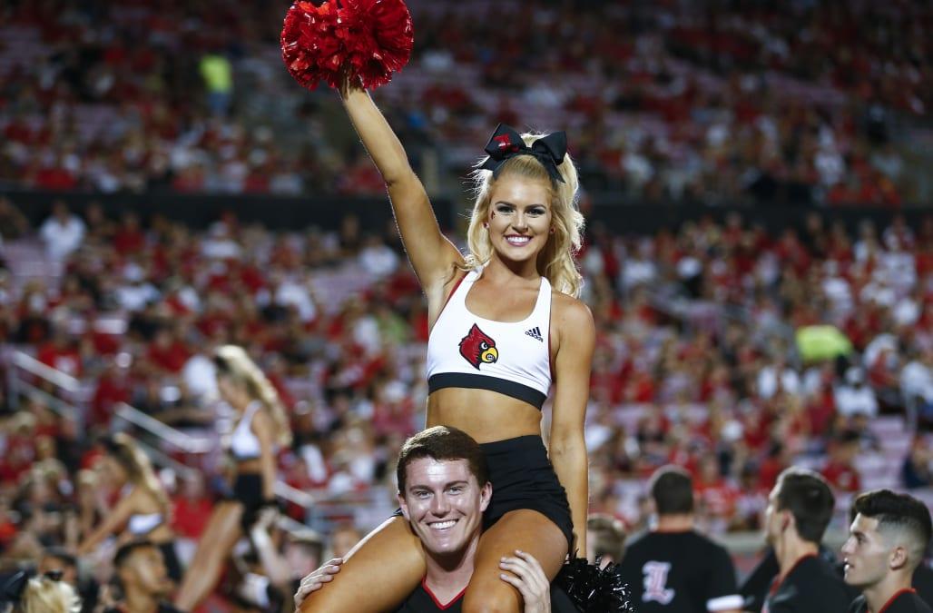 Illinois state cheerleader nude