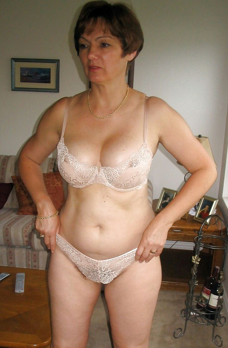 Mature women no panties