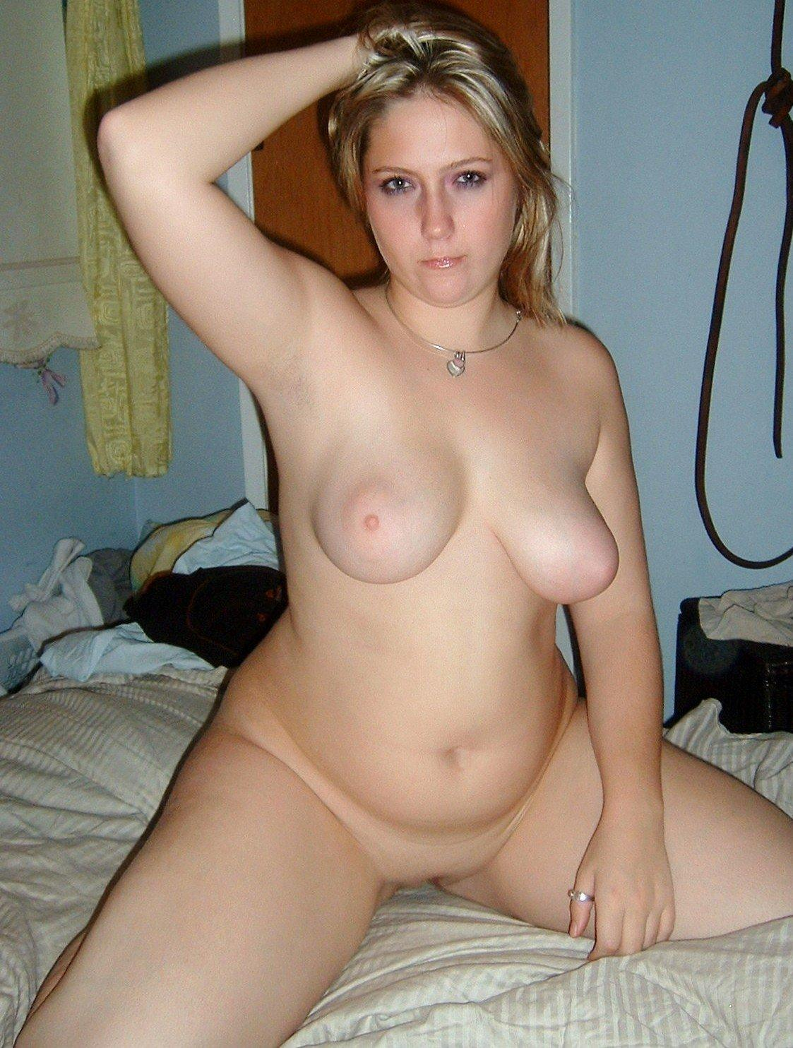 Amateur bbw puffy nude selfie