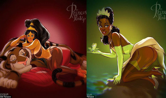 Sexy disney princesses rapunzel