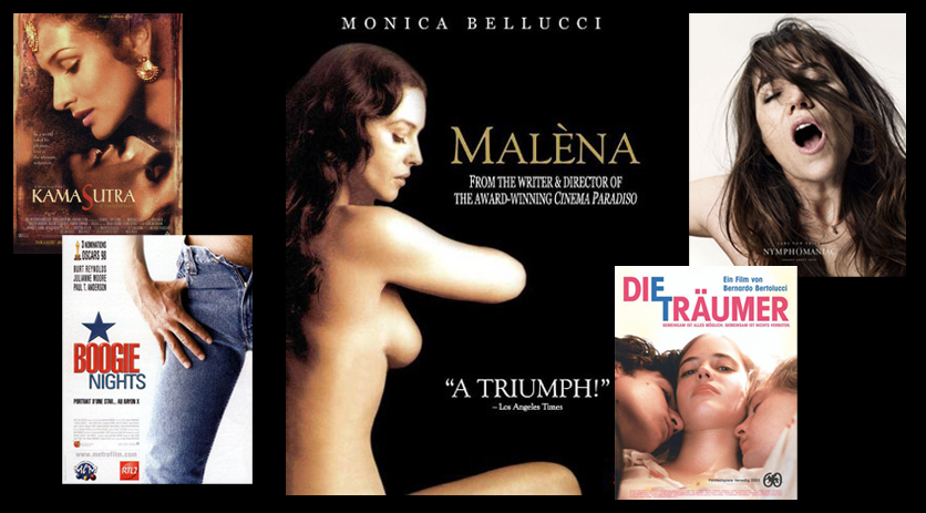 Erotic explicit movie photography