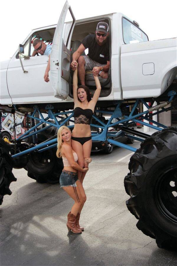 Mud trucks and girls naked