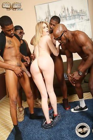 Blacks. on blondes porn