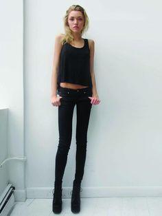 Skinny teen fashion models