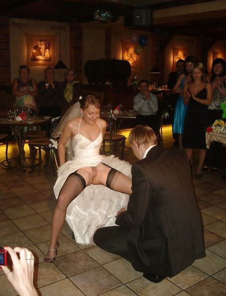 Amateur bride sex wedding