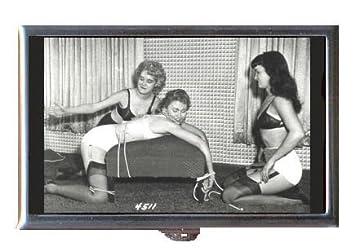 Lesbian bondage x frame