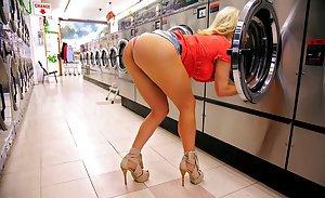 Hot blonde milf wife