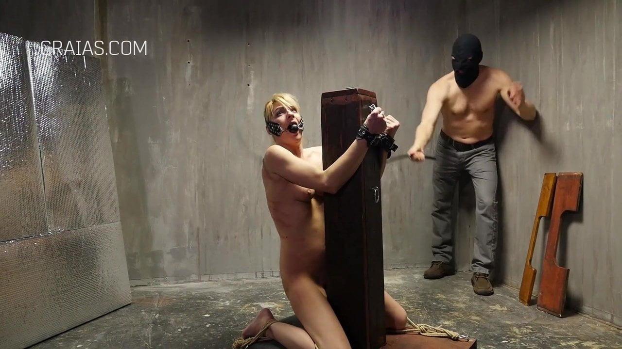 White slave girl naked flogging