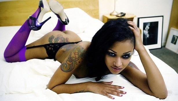 Ebony porn star diamond tattoo