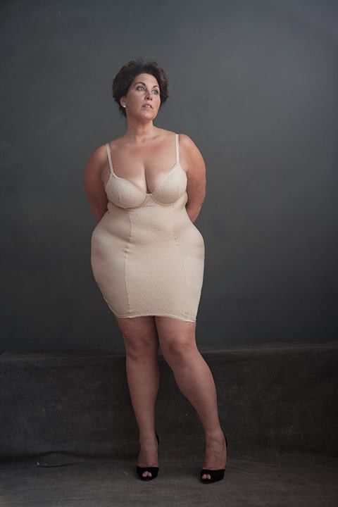 Mature woman with big