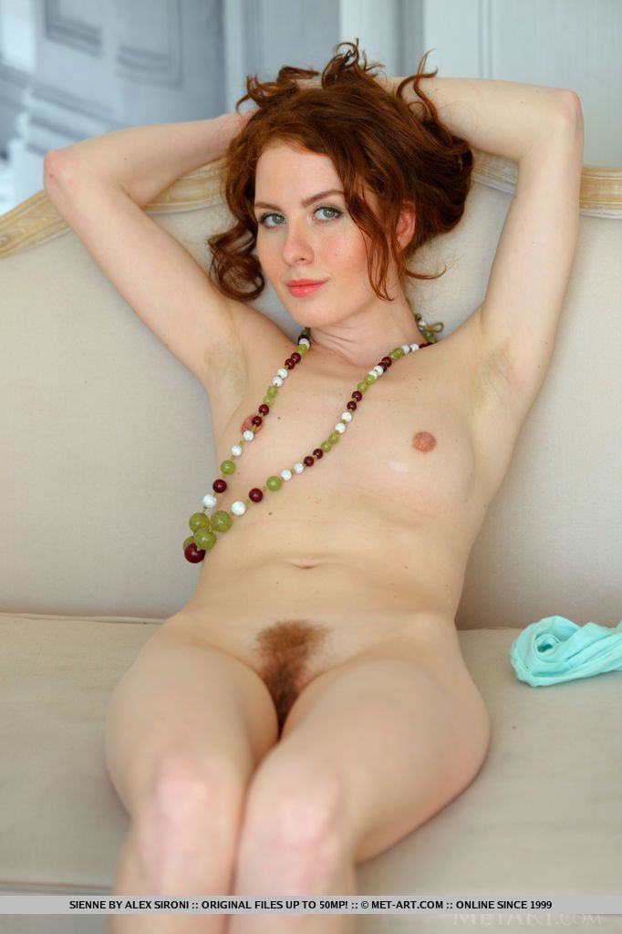 Beautiful red hairy pussy