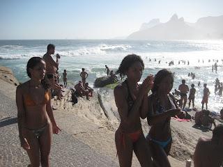 Rio ipanema beach girls