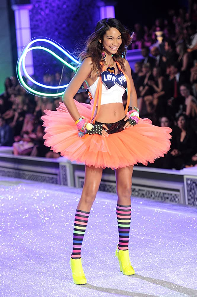 Chanel iman victoria secret show