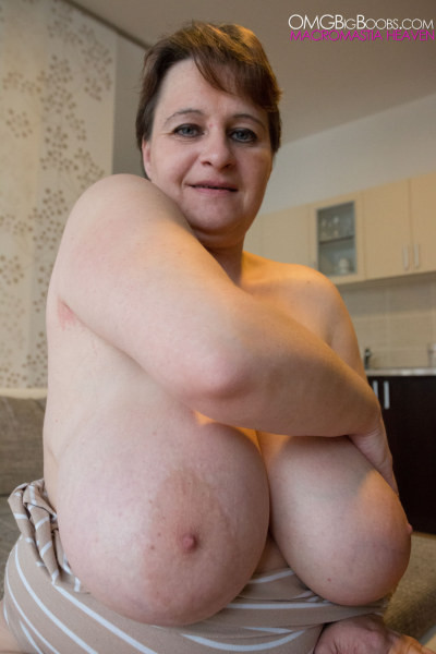 Mature with big natural boobs