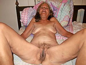 Very old nude grannies