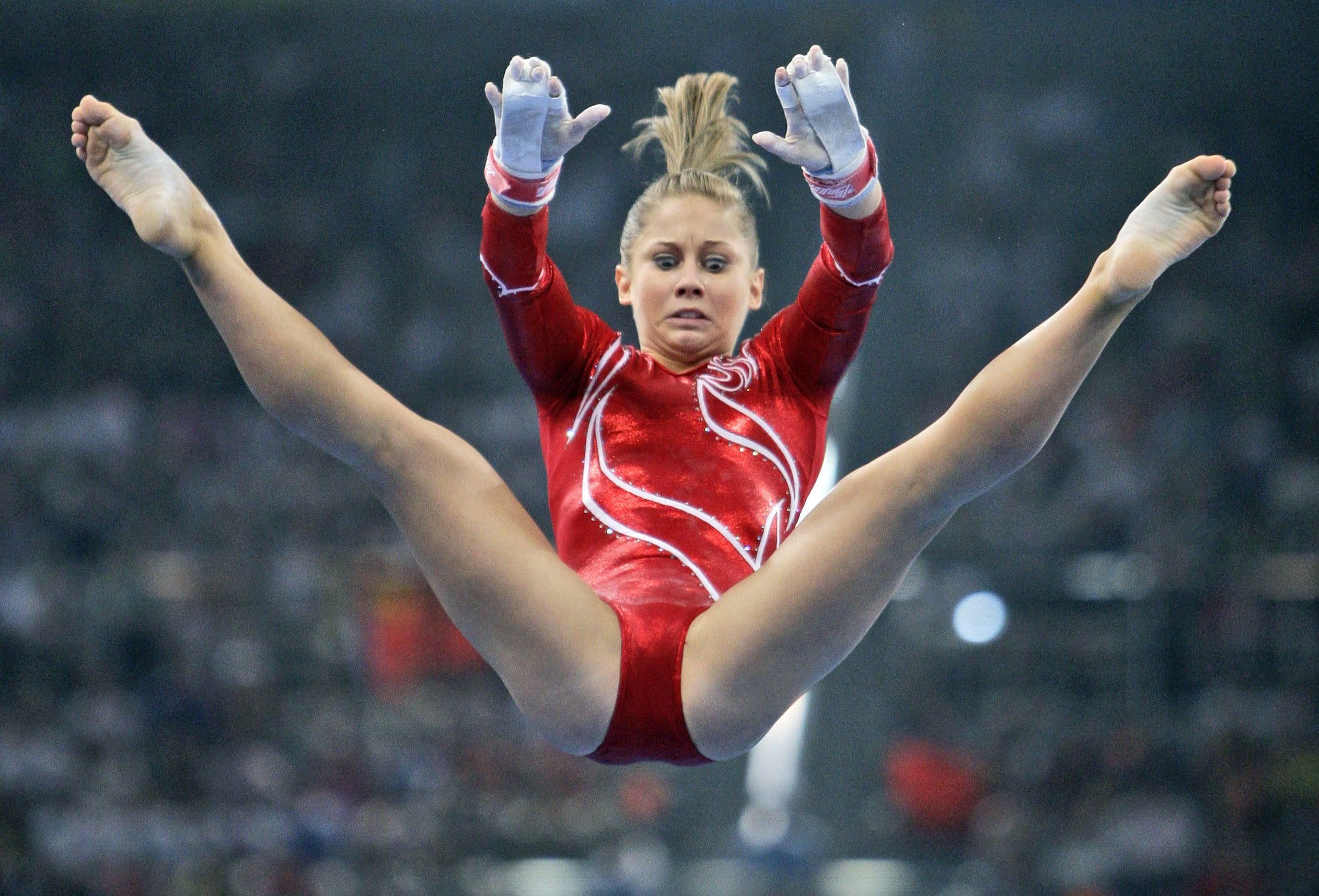 Gymnastics shawn johnson pussy