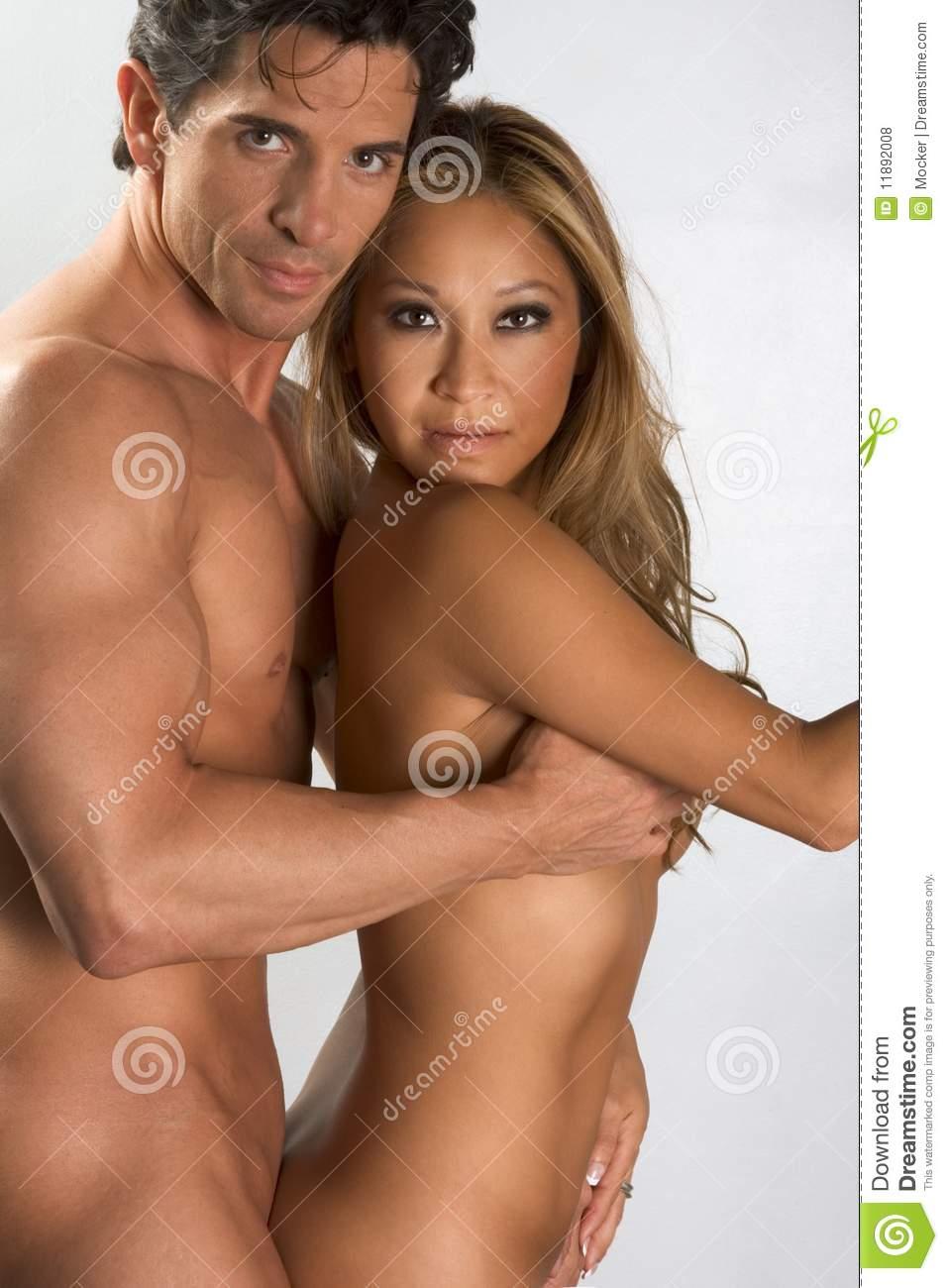 Interracial nude art couples sex