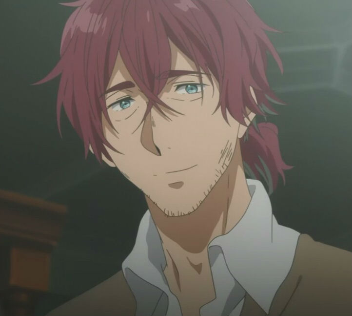 Scarlet gray hair anime futa