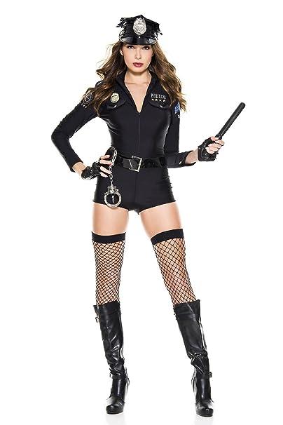Costume police romper sexy