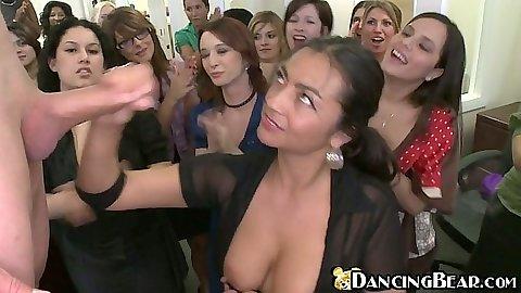 Dancing bear. com titties
