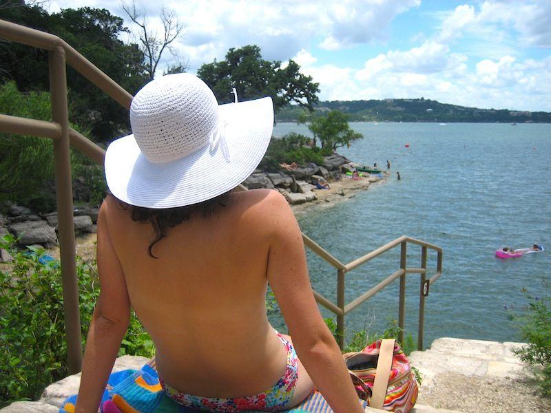 Lake travis hippie hollow nudes