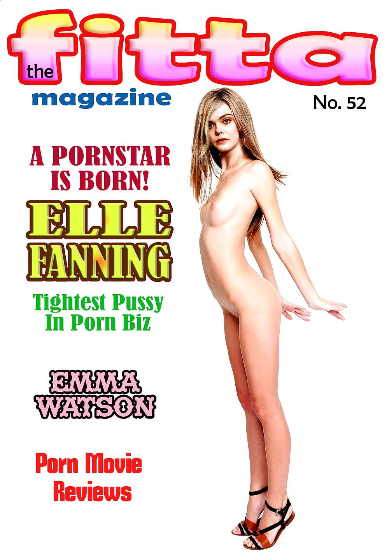 Fitta fake magazine nude