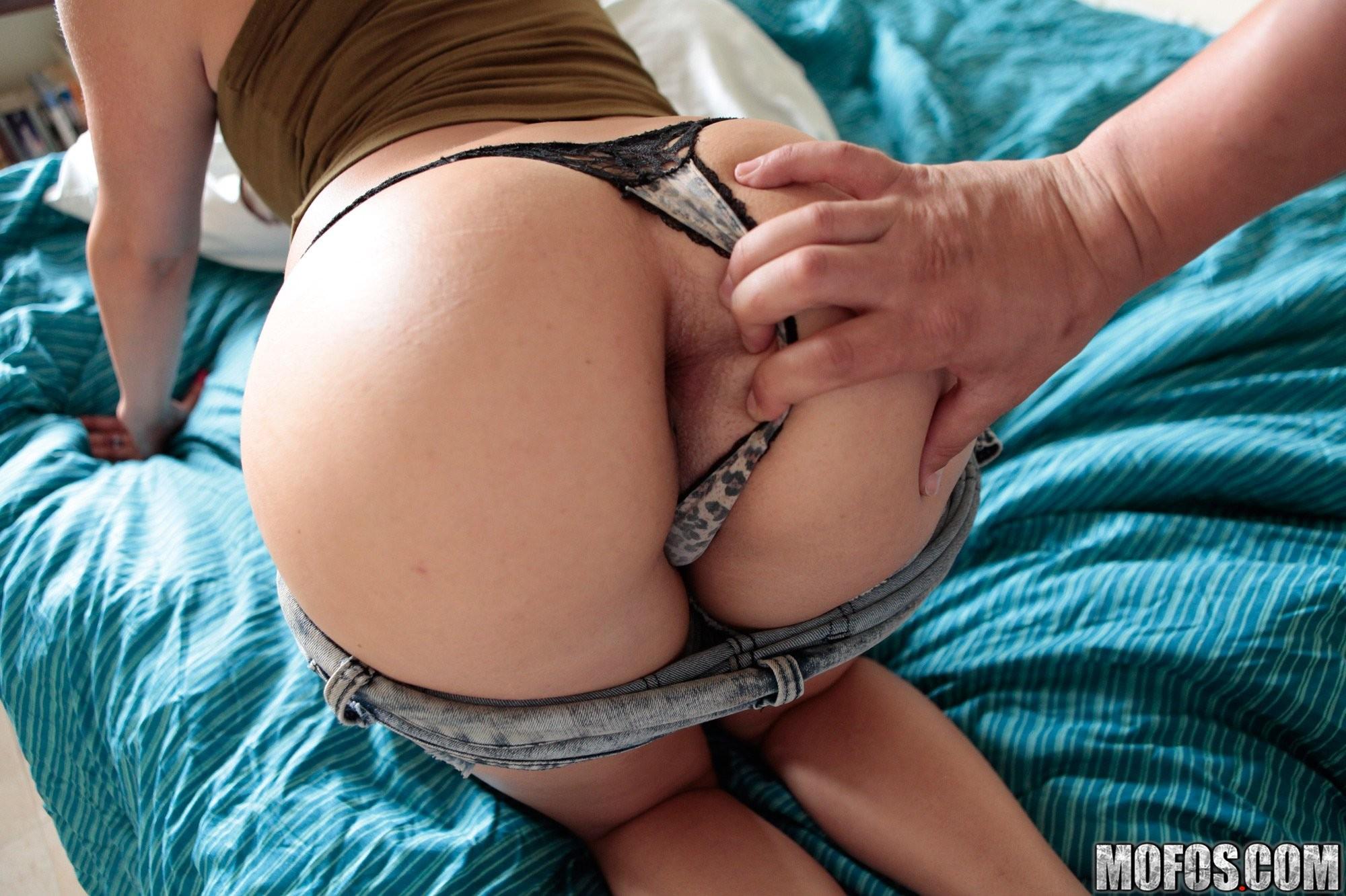 Real amateur butt sex