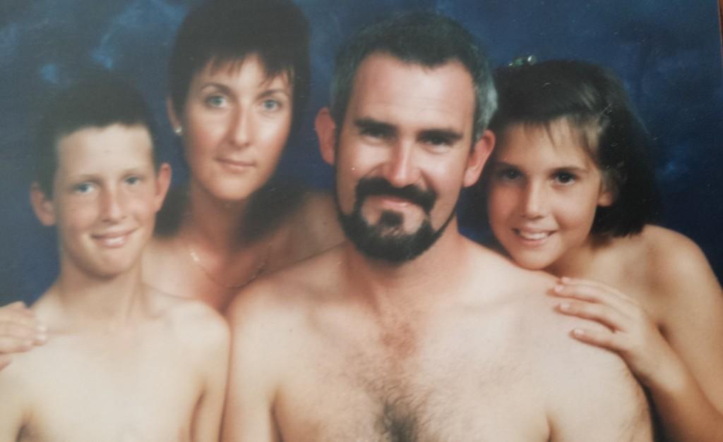 Junior russian nudist family