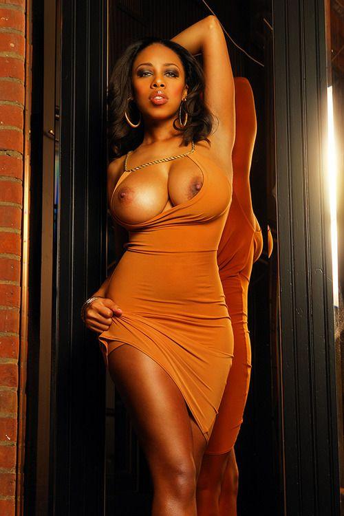 Beautiful busty black girls nude