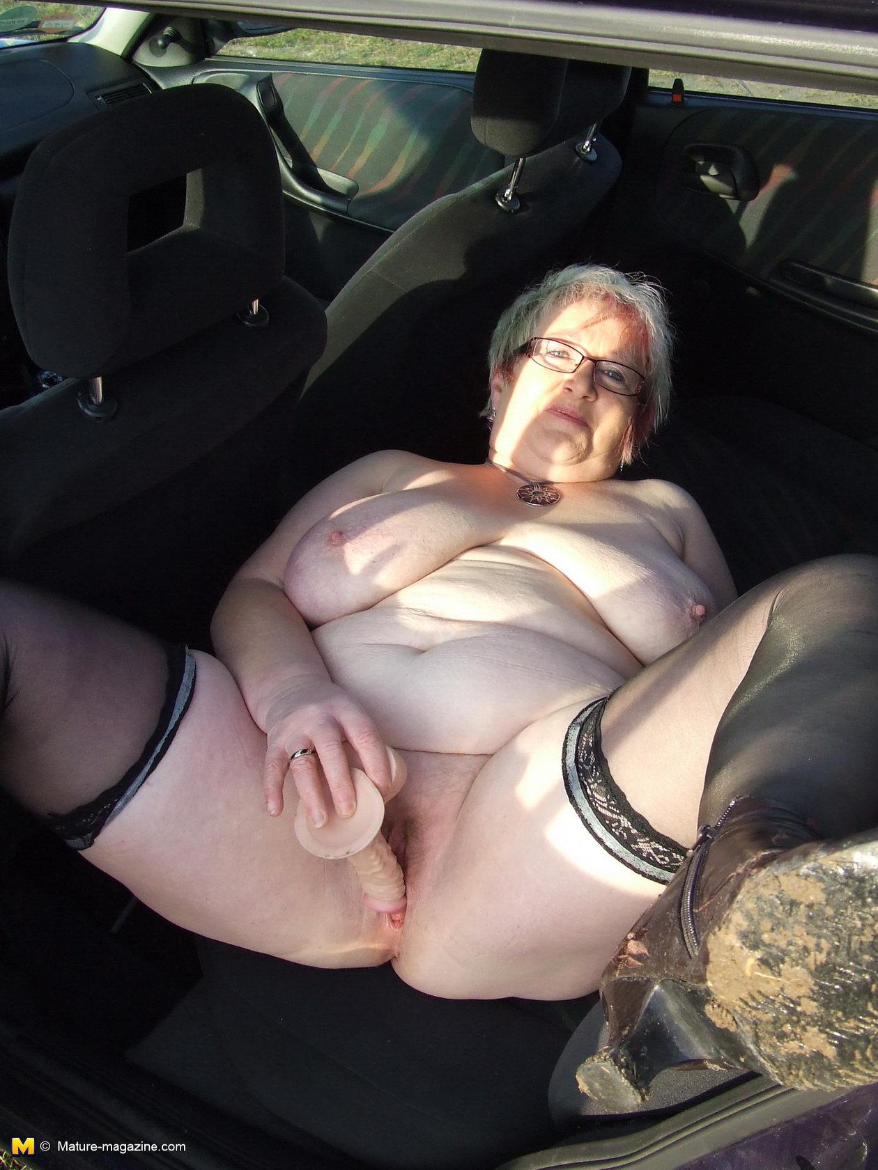 Granny public outdoor photo