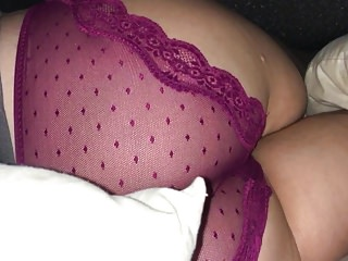 Amateur sleeping girl panties