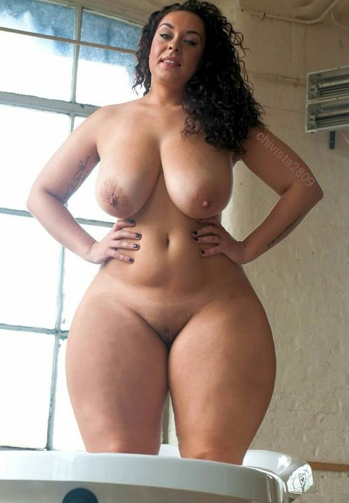 Thick woman spread asian