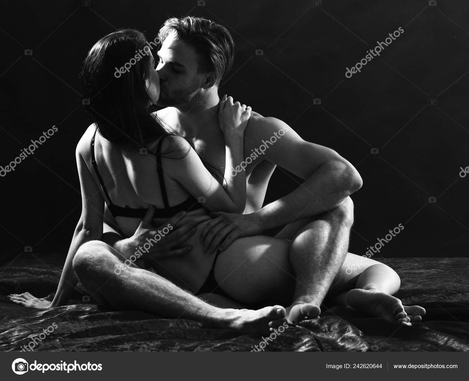 Hot couple sex black white image
