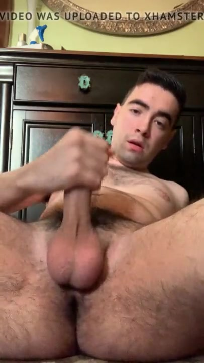 Men with big balls jacking off