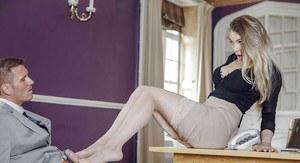 Ebony bigbooty in white sexy panties