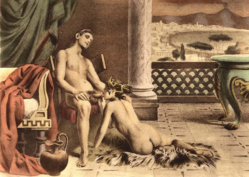 Henri avril erotic painting