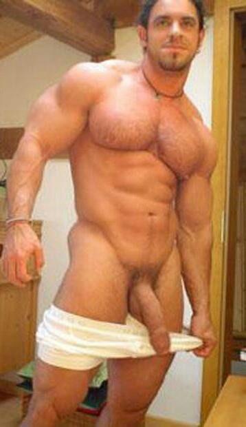 Sexy large naked men