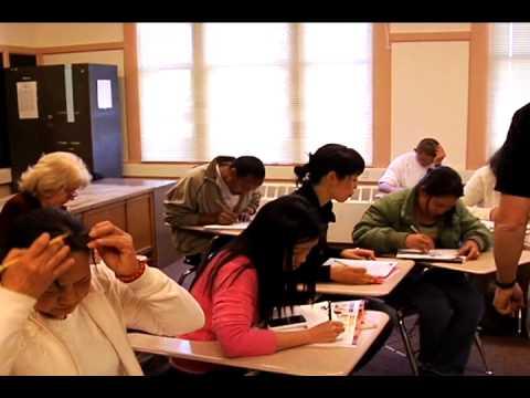 Adult class esl multilevel teaching