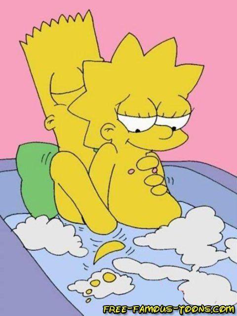 Simpson bart et lisa porno