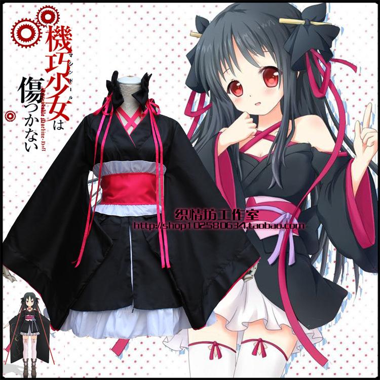 Anime girl halloween costume